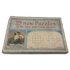 Vintage German Stick Puzzle Set