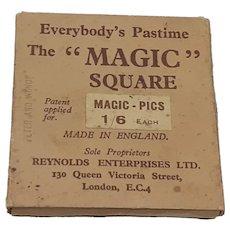 Magic Square Magic Pics Peter Pan and Wendy Metal Tile Slide Puzzle