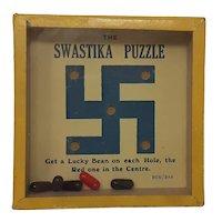 R Journet square Dexterity puzzle The Swastika Puzzle