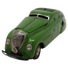 1930's Schuco Kommando Anno 2000 wind-up tin toy car