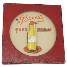 Glevum dexterity puzzle Silver Drop Purnell's Pure Lemonade