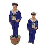 Circa 1890 toy figural Sailor Skittle