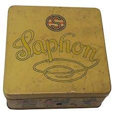 1930's Saphon German tin-plate toy Gramophone Phonograph