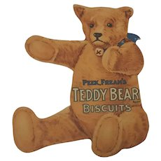 Peek Frean Biscuits A Teddy Bear Puzzle advertising puzzle