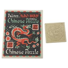 1950's Plastic Palitoy Hao-Wan Chinese Puzzle Tangram