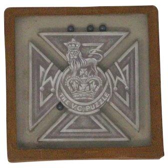 The Victoria Cross dexterity puzzle Lord Roberts Memorial Workshops