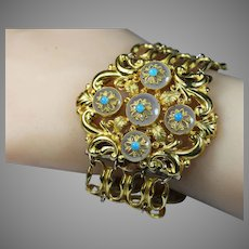 Unique Antique French Bold Bracelet Circa 1810