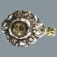 Rare Stuart Crystal Diamond Ring 17th Century