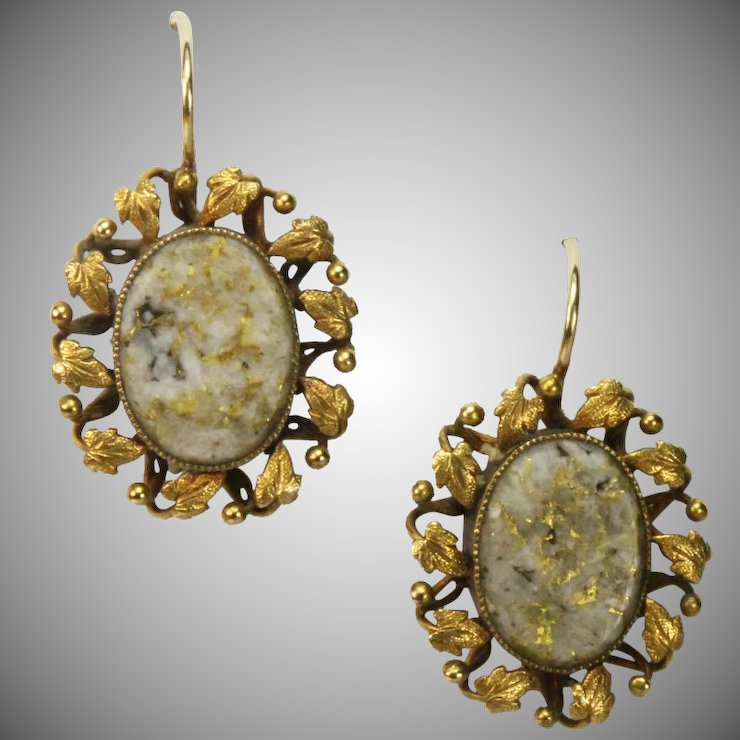 rose stone and belgium jewelry krisd earrings quartz en