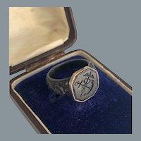 Rare Berlin Iron Gold Ring