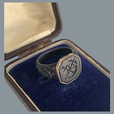 Rare Berlin Iron Gold Ring