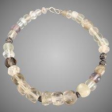 Antique Old Dutch Dogan Bead Necklace