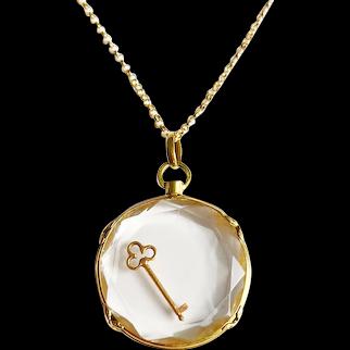 Antique 18 karat Gold French Locket