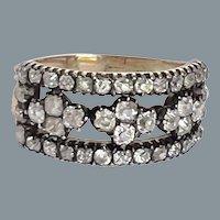 Rare and Beautiful Diamond Georgian Ring Circa 1820