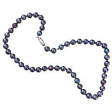 Rare Blue WMF Necklace CIRCA 1930