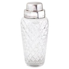 Vintage WMF Silver Plated Cocktail Shaker