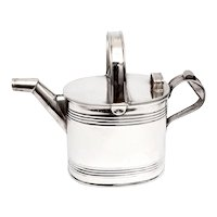 Edwardian Silver Plated Four Pint Watering Can