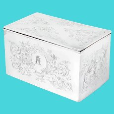 Antique Mappin & Webb Silver Plated Box