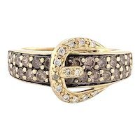 Le Vian Chocolate Diamond Buckle Band 14k