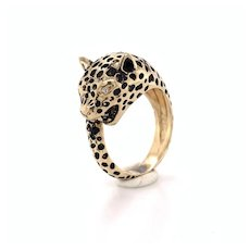 Cheetah Ring 14k