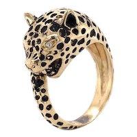 Cheetah Ring 14k