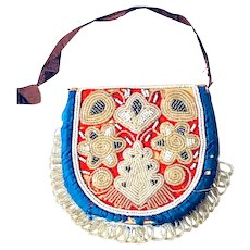 Early 20thC Glass Beadwork Purse