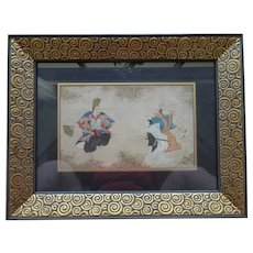 Very Old Japanese Scroll Painting