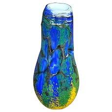 Art Glass Vase - Impressionist Design - Abler Glass