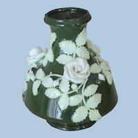 Small Green Clay Vase