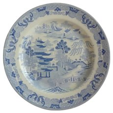 Spode Temples Pattern Plate