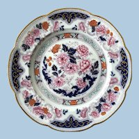Perfect 19th C. Cauldon Plate