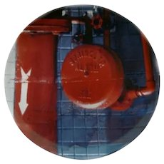 RARE Limited Edition Rauschenberg Plate - Sprinkler - 14793 - Number 6 in the Series