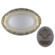 """Noritake Gastonia 16 1/4"""" Oval Serving Platter"""