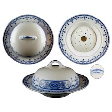 Nippon Royal Sometuke aka Royal Blue 3 Pc. Butter