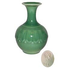 Vintage Rookwood Deco Mid Century Green Art Pottery Vase
