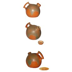 Camark Orange Ball Pitcher/Jug with Stopper