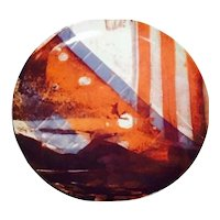 RARE Limited Edition Rauschenberg Plate - Untitled - 14789 - Number 2 in the Series