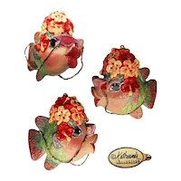 Katherine's Collection Carmen Miranda Fish Ornament