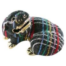 Judith Leiber Austrian Crystal Foo Dog Handbag