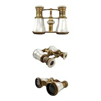 Vintage Elegant Mother of Pearl Opera Glasses