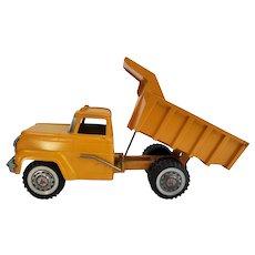 Vintage Hubley Yellow Dump Truck #902