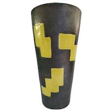 Mid Century Elchinger French Ceramic Vase