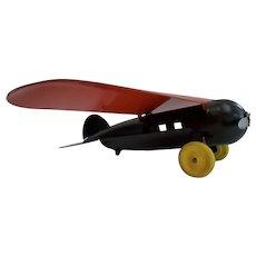 Vintage Wyandotte Lockheed Vega Airplane
