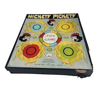 Parker Brothers Vintage 1924 Hickety Pickety Board Game