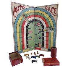1922 Vintage Spedem Auto Race Board Game