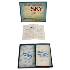 "1911 ""Sky"" The Aviators' Card Game by Parker Brother's"