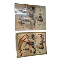 1897 Antique Home Scroll Puzzle