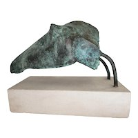 Michael Croydon  Bronze Horse Head I