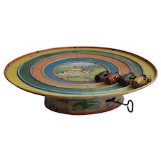 Vintage Original Marx 1926 Whee Whiz Auto Racing game