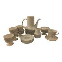 Rosenthal Studio Line Filigree Tapio Wirkkala Coffee / Tea set for 6, ca early 70's